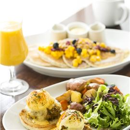 join us for an open air breakfast at the veranda