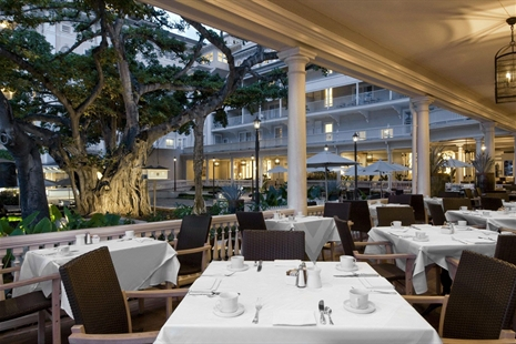 join us for dinner under the banyan tree on the veranda