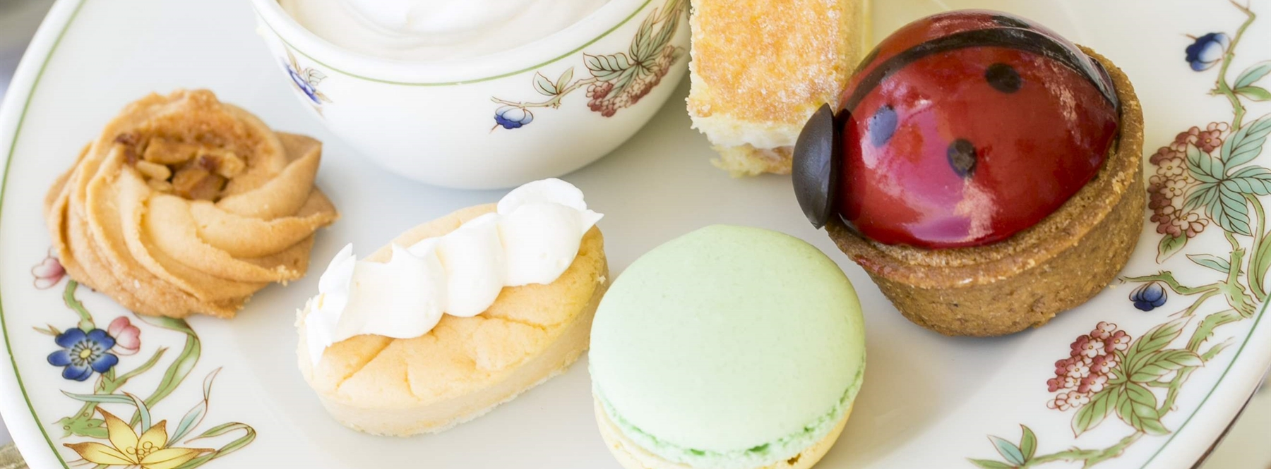 sample sweets and small bites to your hearts delight with our moana classic tea set